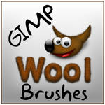 Wool Brushes for the GIMP
