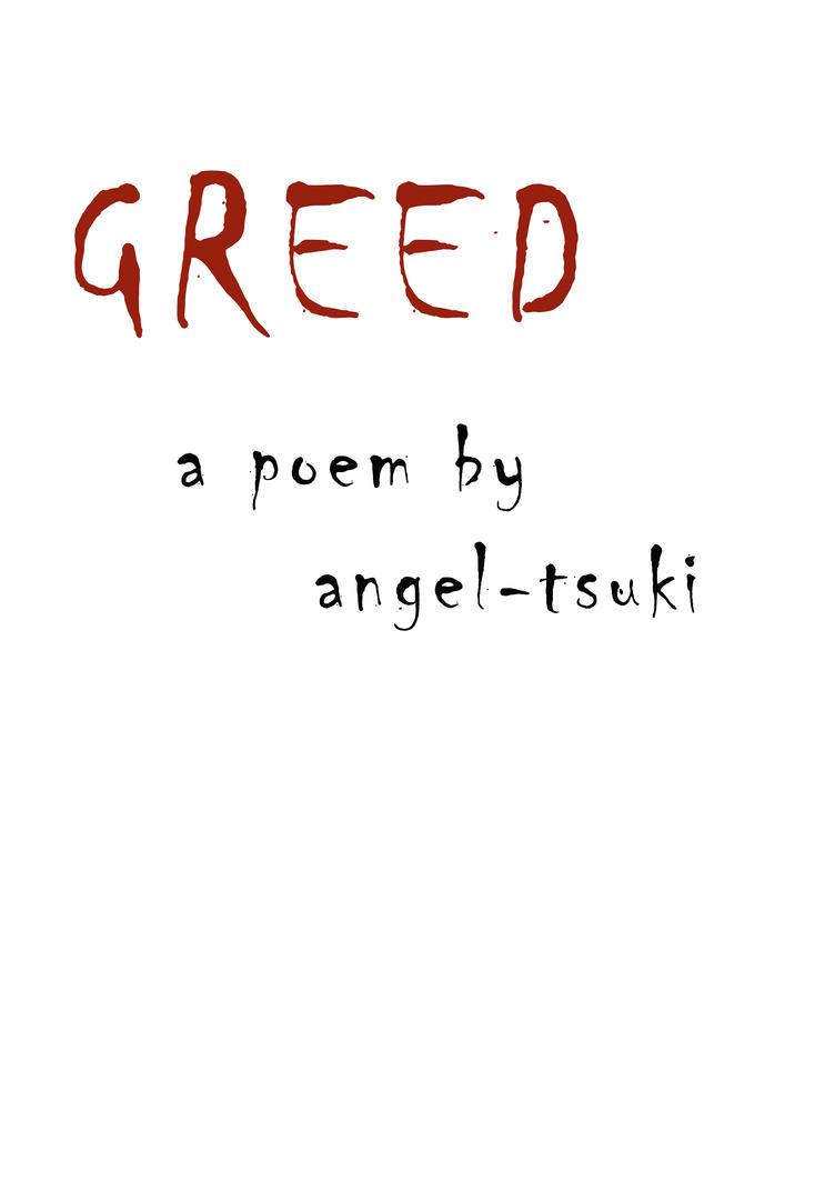 Greed by MissTsukii