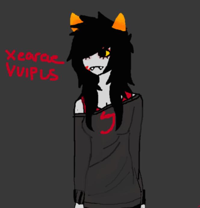 New Homestuck Fan Troll Xearae Vulpus By XxxknivesandpensxxX On