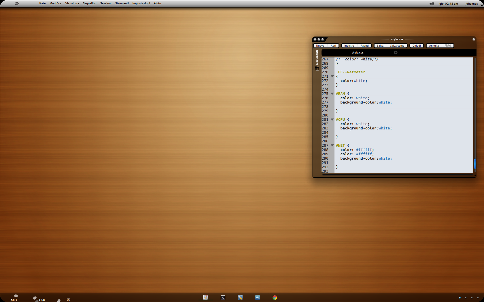 Maccish Theme for Be::Shell (KDE) by Hombremaledicto