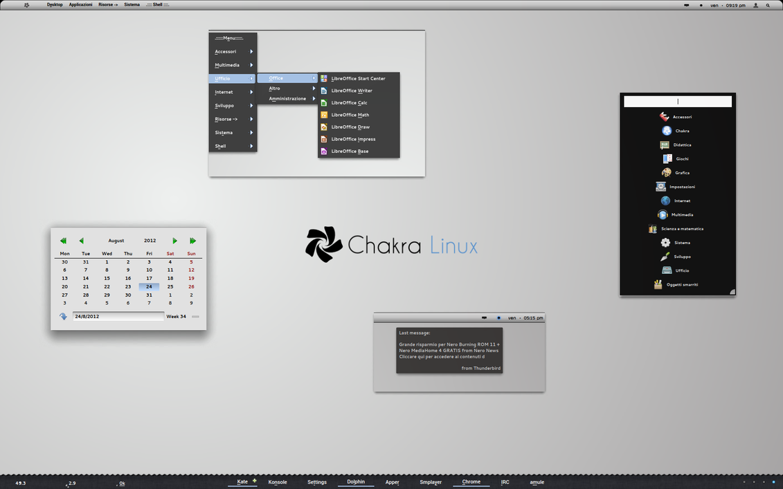 Nouveau Theme for BE::SHELL (kde) beta release. by Hombremaledicto