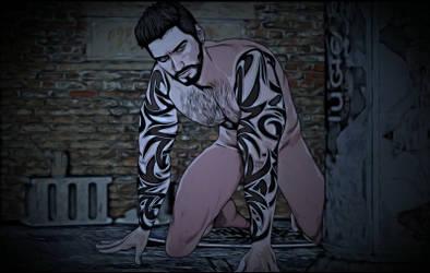 Werewolf of London (animation) by Ulysses3DArt