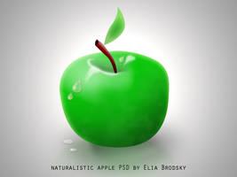 apple PSD by eEl886