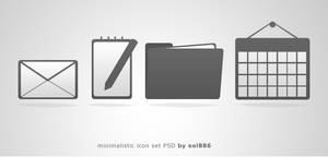 second free PSD icon pack