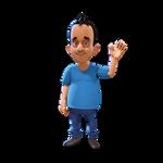 Character City 3D Cuper Presents video template