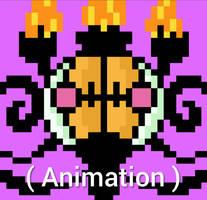 Shiny Chandelure Animation