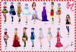 CDM PACK conjuntos de navidad