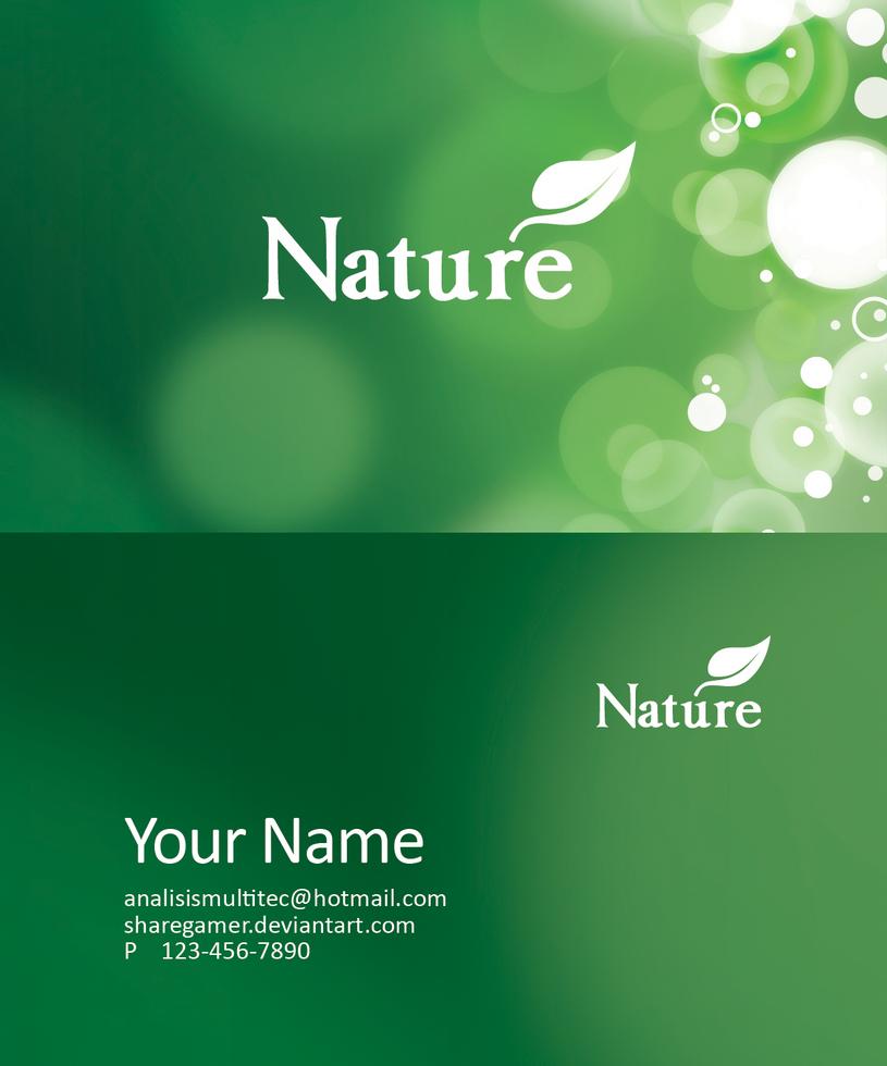Eco Friendly Business Card PSD by ShareGamer on DeviantArt