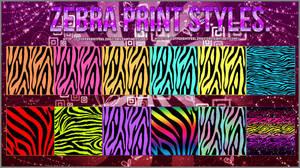 #-Zebra Print Styles.