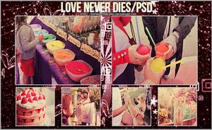 Love never dies PSD. by differentfeelings