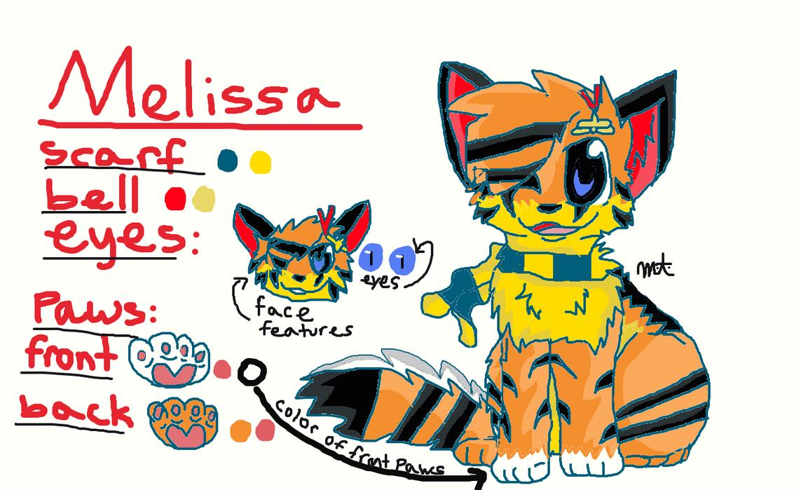 Melissa ref by SecretsOfTheShadows