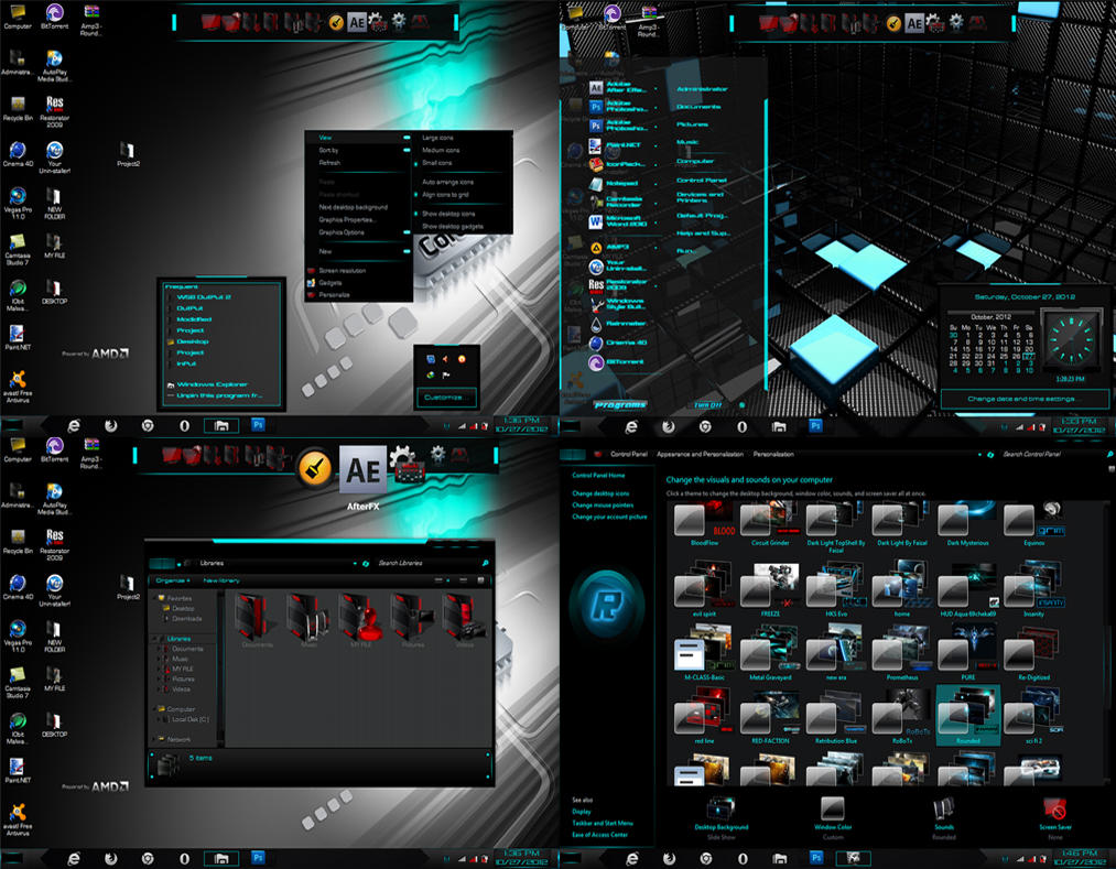 Rounded Windows 7 Theme By Pro Designer 50210 by PRO ...