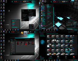 Rounded Windows 7 Theme By Pro Designer 50210 by PRO-DESIGNER-50210