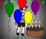 Happy Birthday  KateTheRaccoon