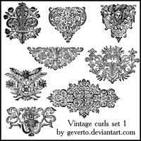 Vintage curls 1 by geverto