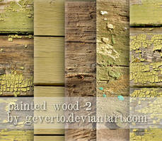 painted wood 2 by geverto