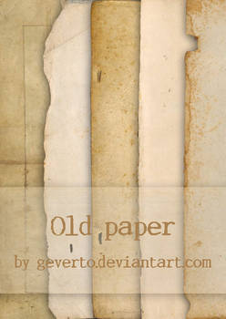 Old paper