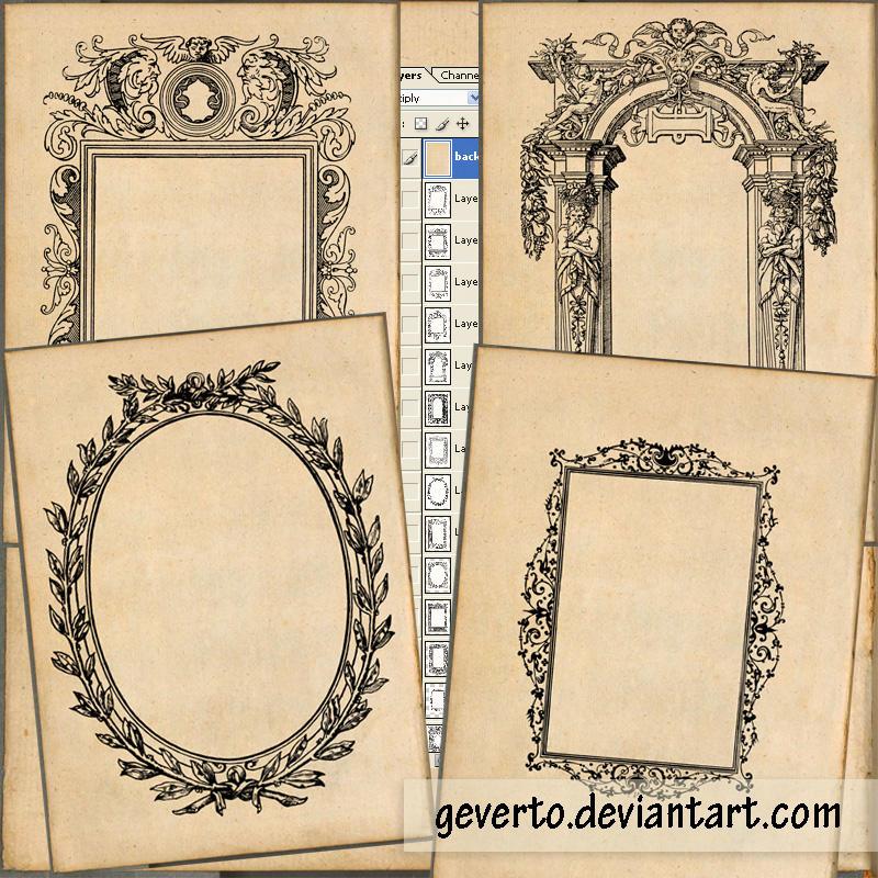 14 old frames by geverto on DeviantArt