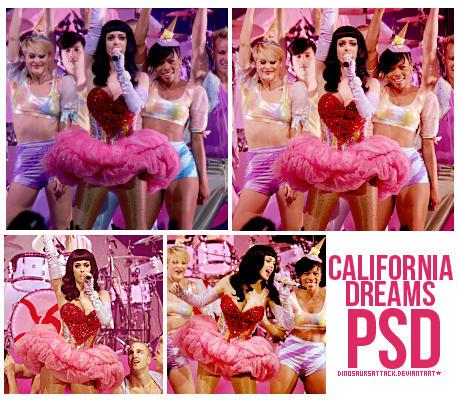 California Dreams psd by Dinosaursattack