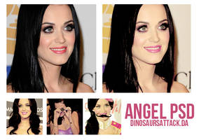 Angel psd by Dinosaursattack