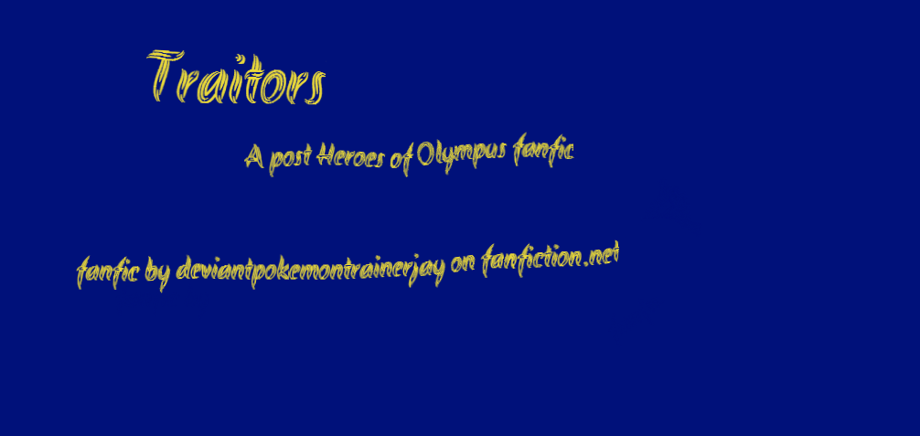My post Heroes of Olympus fanfic by pokemontrainerjay