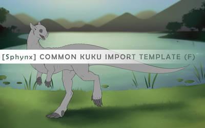 Common Kukuri Sphynx Import - Female by Kuku-ri