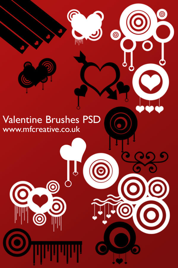 Valentine PSD by mfcreative