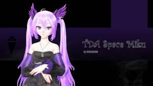 MMD TDA Space Miku by Yuki-Yuki13