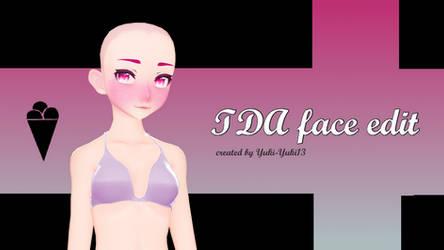 {MMD/PMX} TDA Mature(maybe Luka, IDK) face + Dl by Yuki-Yuki13