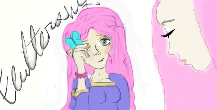 Humanized Fluttershy by HehLan57