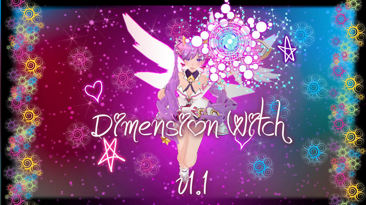 Elsword Dimension Witch Wallpaper