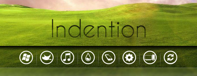 Indention