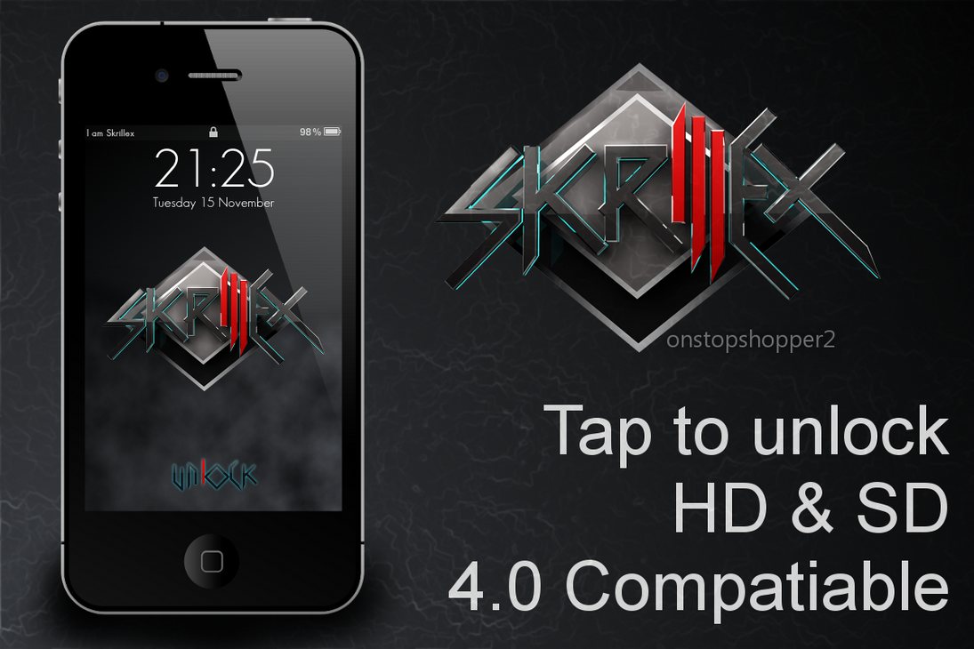 Skrillex lockscreen by sierradesign on deviantart skrillex lockscreen by sierradesign voltagebd Gallery