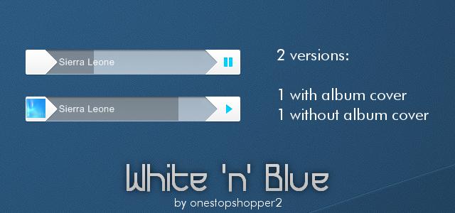 White 'n' Blue by SierraDesign