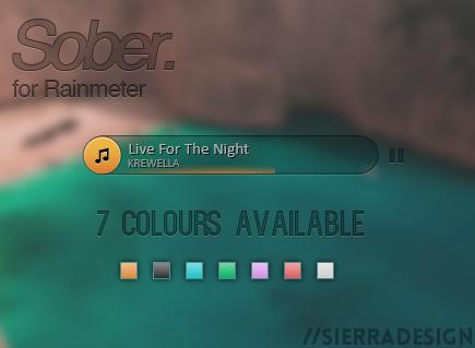 Sober Music Player by SierraDesign on DeviantArt