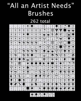 All An Artist Needs Brushes