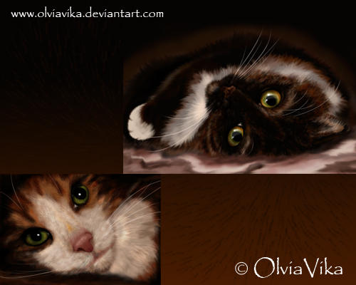 A Brush For Drawing Fur by OlviaVika