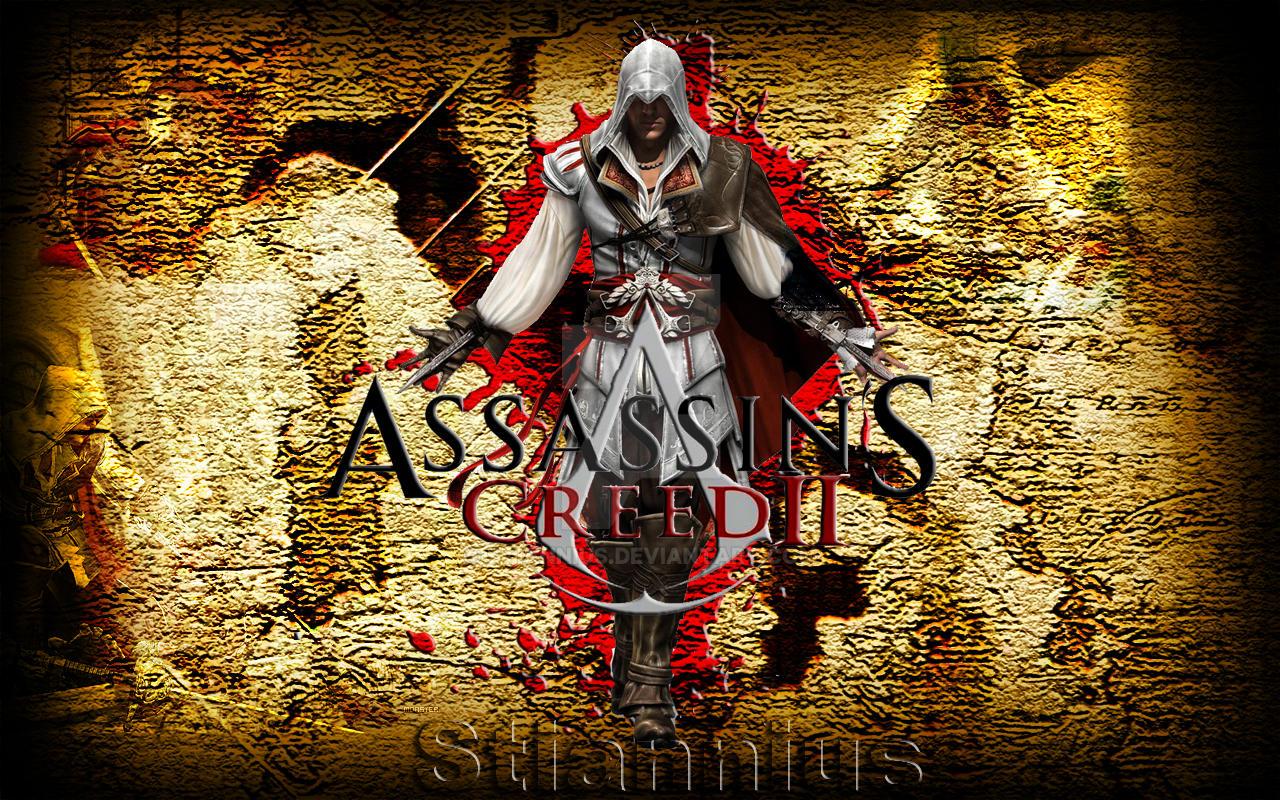 Assassins creed ii wallpaper by stiannius on deviantart - Assasins wallpaper ...