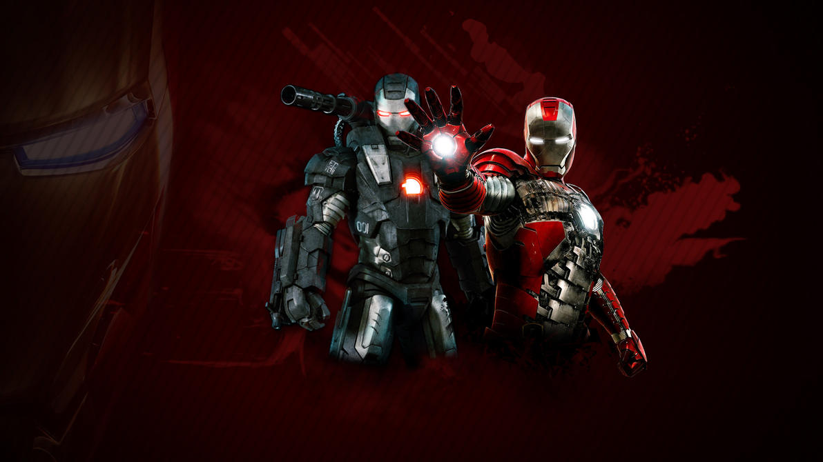 Iron Man 2 Wallpaper Red by stiannius