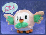 Rowlet Pattern - Now available
