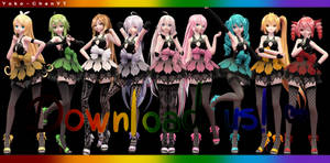 xX MMD Xx TDA Ladies Pack + DL! Thanks for 200+