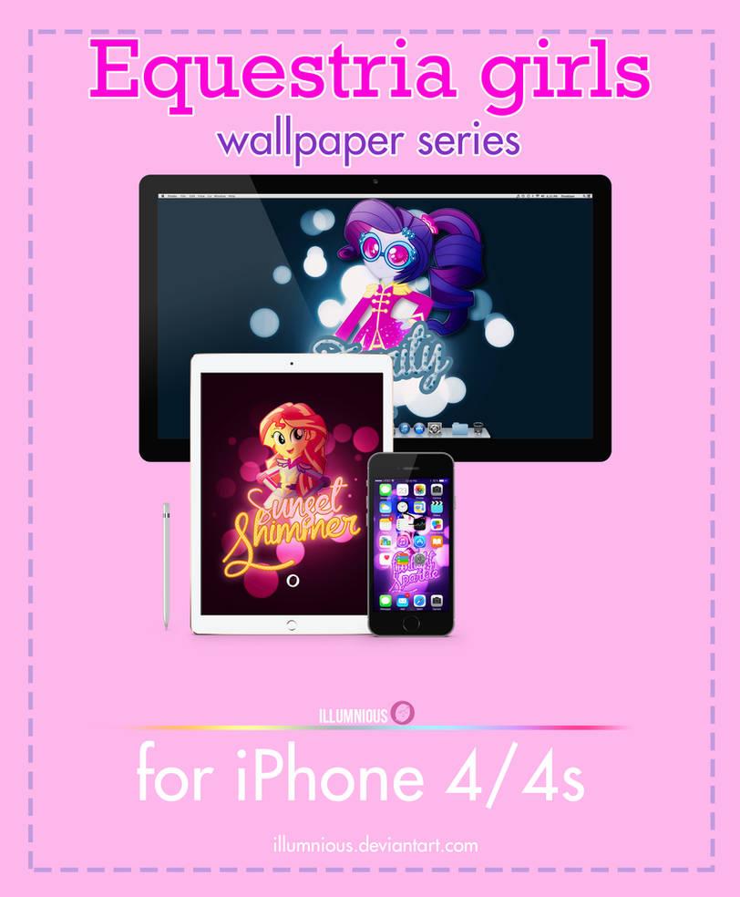 Equestria Girls Wallpaper Series Iphone 4 4s By Illumnious