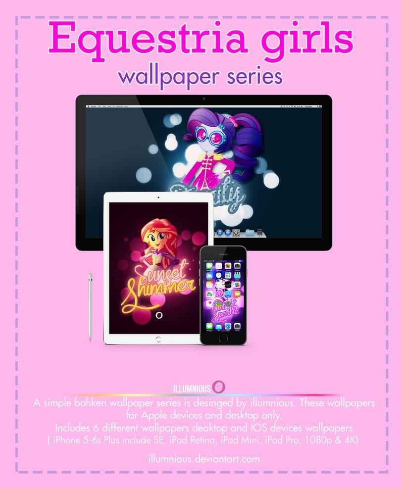 Equestria Girls Wallpaper Pack by illumnious