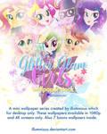 Glitter Girls Wallpaper Pack (Early Released)