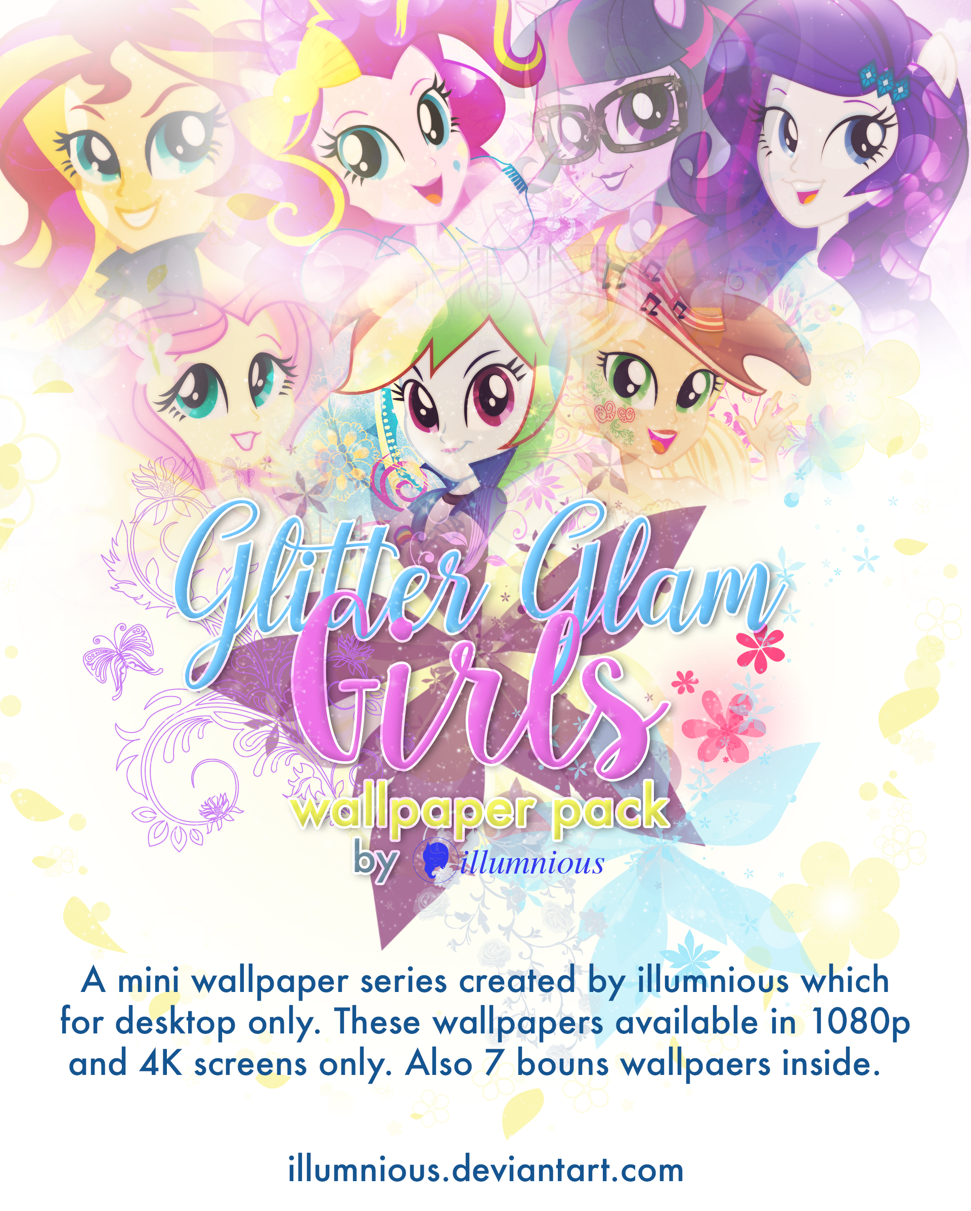 Glitter girls wallpaper pack early released by illumnious on glitter girls wallpaper pack early released by illumnious voltagebd Image collections