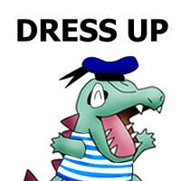 Totodile Dress Up by pichu90