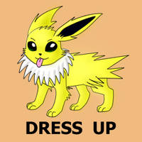Jolteon Dress Up by pichu90