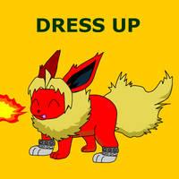 Flareon Dress Up by pichu90