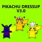 Pikachu Dressup v3.0 by pichu90