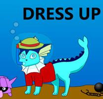 Vaporeon Dress Up by pichu90